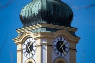 Clock-faces of St Michael in Altperlach Munich