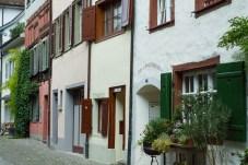 House rows in Stein am Rhein