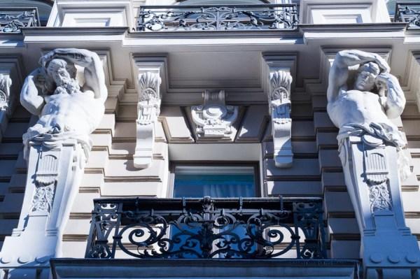 Art Nouveau balcony Riga