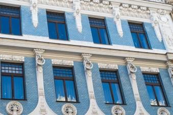 Art Nouveau facade Riga