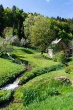 Idyllic Schulmühle Franconian Switzerland