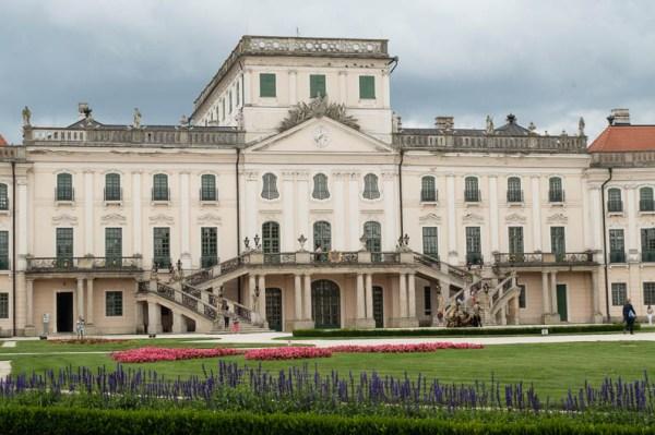 Esterházy Palace in Fertöd