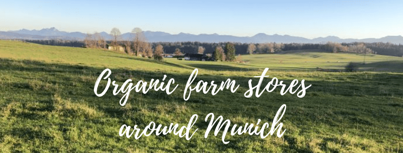 Vegan shopping in self-service organic farm stores around Munich
