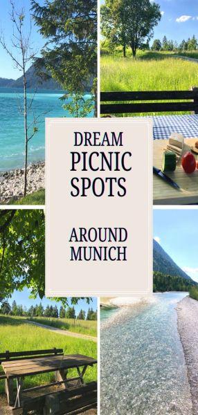 Fantastic picnic sites near Munich