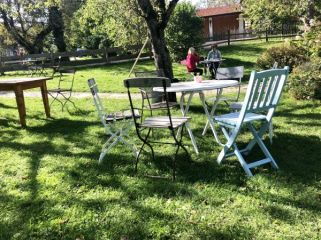 In the garden of Oberbuchberger's