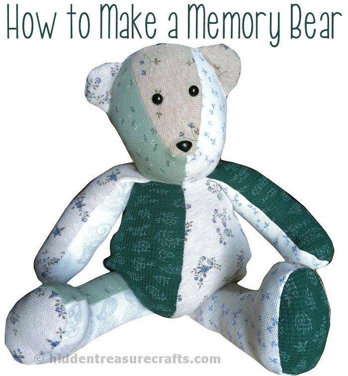 how to make build a bear clothes no sew