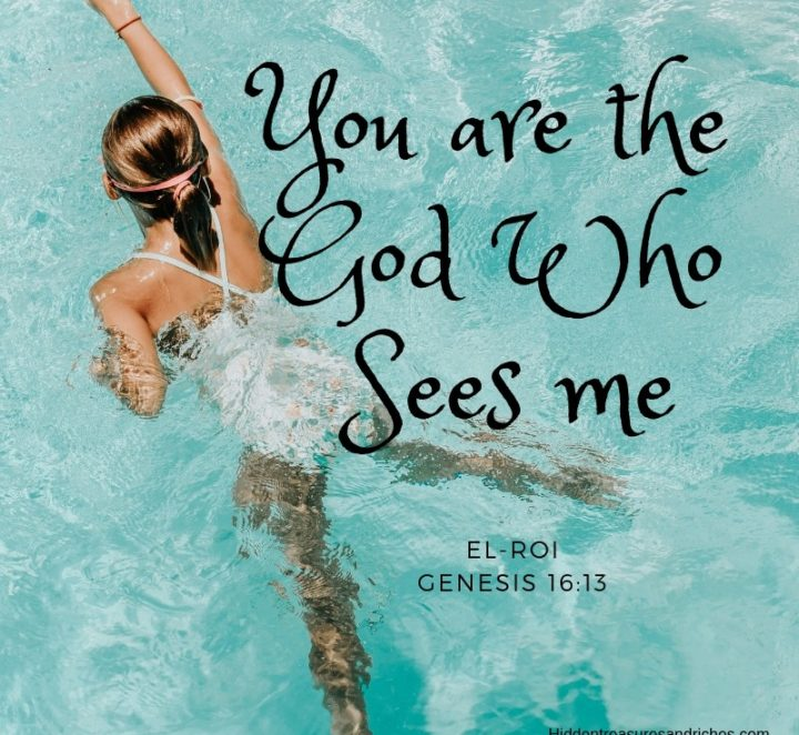 Encountering God By Name: The God Who Sees Me