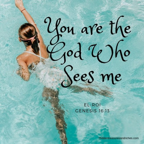 El-Roi, is about trusting the God who sees you and cares deeply about you.