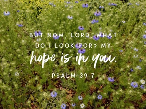 My hope is in you