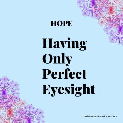 HOPE: Seeing from God's Perspective