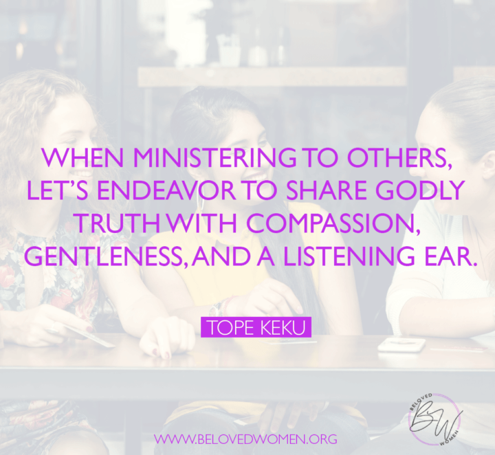 Ministering to Others
