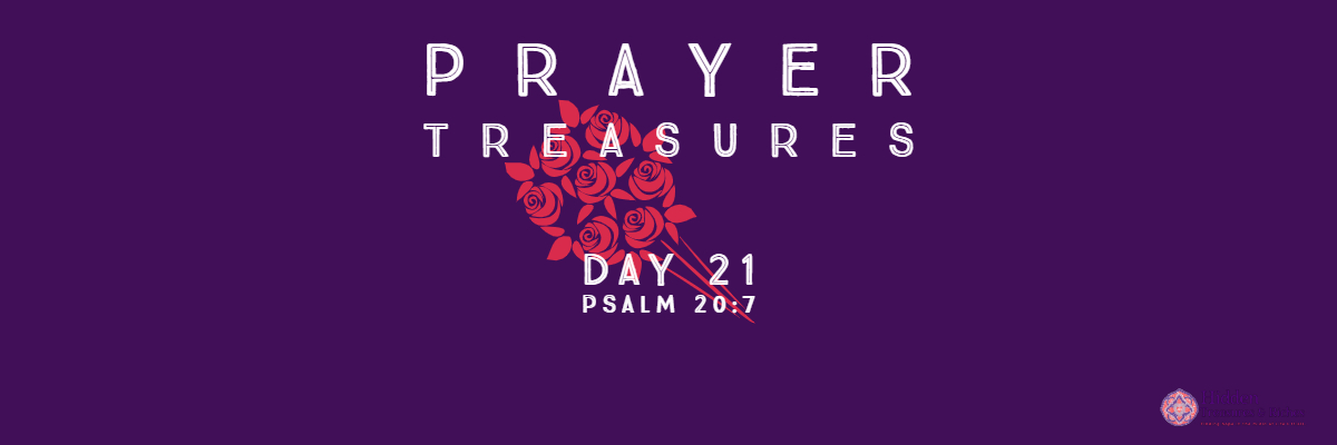 Prayer Treasures Day 21-Trust