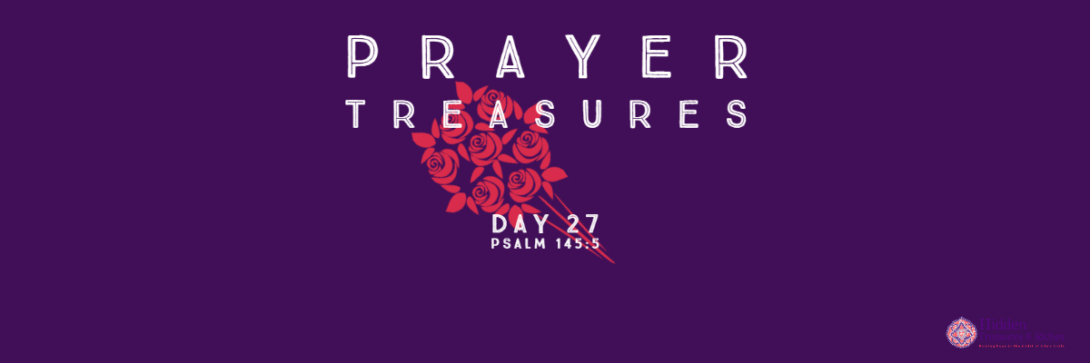 Prayer Treasures The greatest Treasure