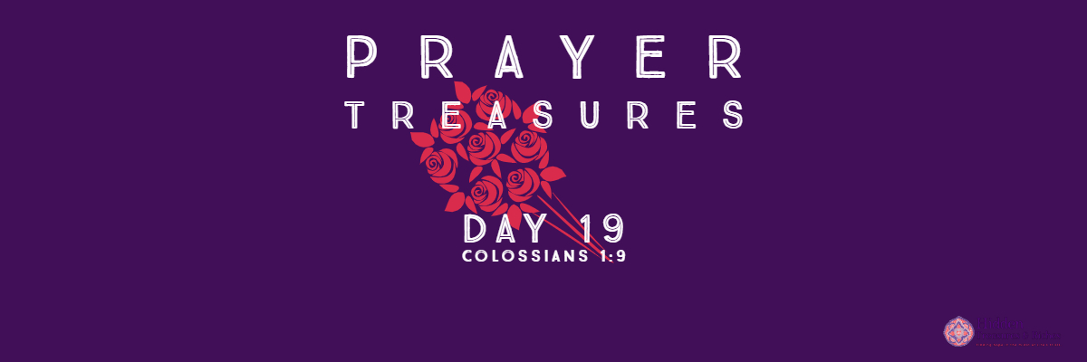 Prrayer Treasures Day 19-God's will