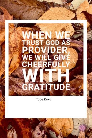 Joyful Giving