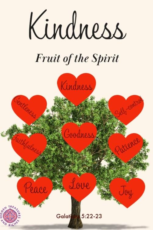 Fruit of the Spirit- Kindness