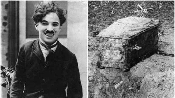Историята на българинът, откраднал ковчега на Чарли Чаплин