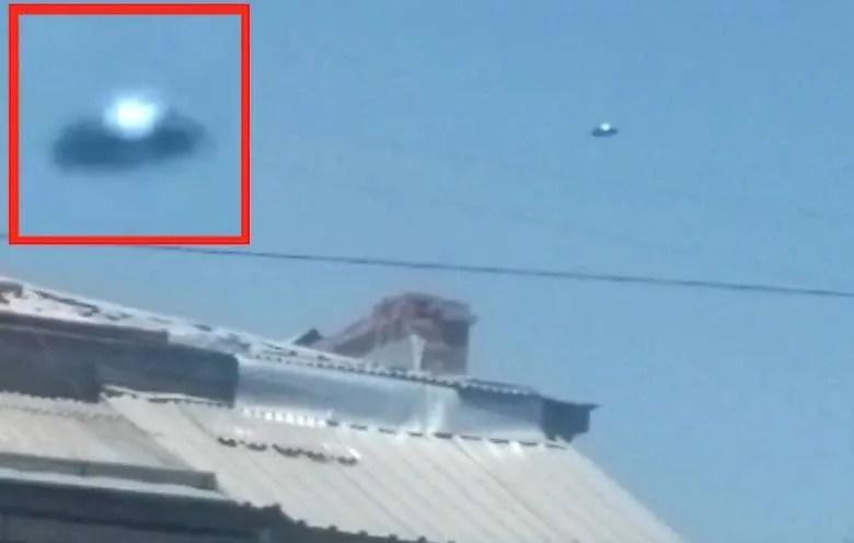 Дискообразно НЛО се появи в небето над Ереван (видео)