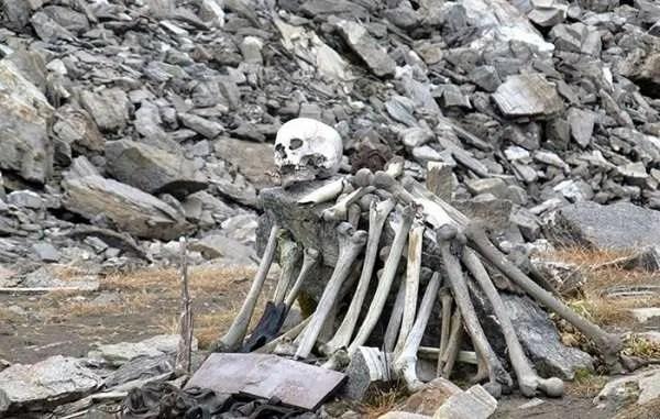 Мистериозното Езеро на скелетите все още крие своите тайни