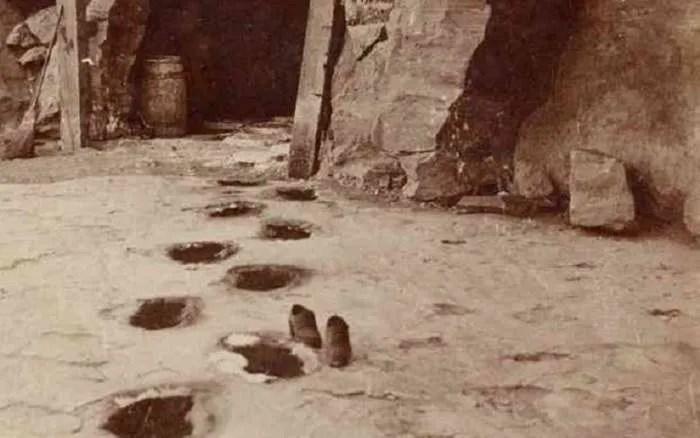 От милодон ли са гигантските отпечатъци, открити в Невада?