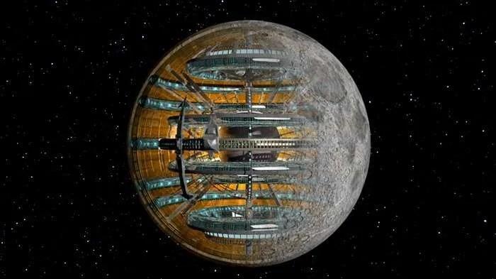 Няколко теории за това, че Луната е изкуствен обект
