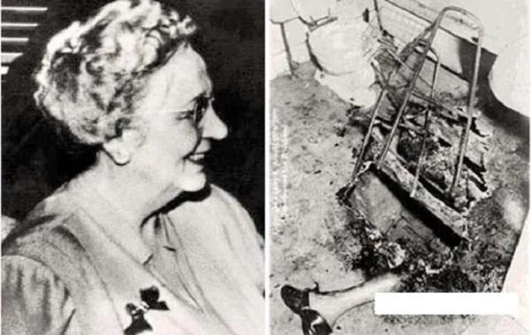 Смъртта на Мери Рийзър - мистериозен случай на самозапалване (18+)