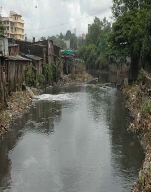 Mithi River at Saki Naka Road. Source: http://swat.tamu.edu/media/57025/j1-4-zope.pdf