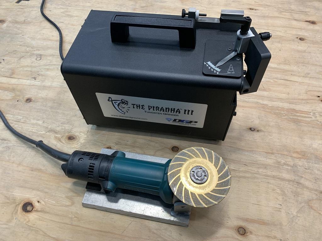 タングステン電極研磨機