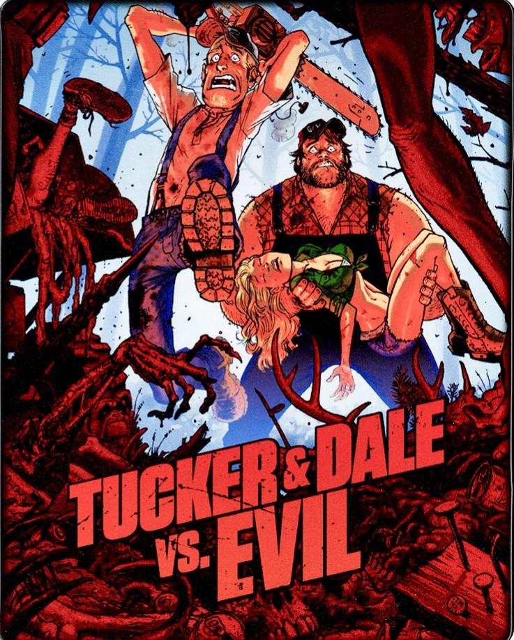 Tucker And Dale Vs Evil : tucker, Tucker, (Blu-ray, SteelBook), [USA], Hi-Def, Ninja, Culture, Movie, Collectible, Community