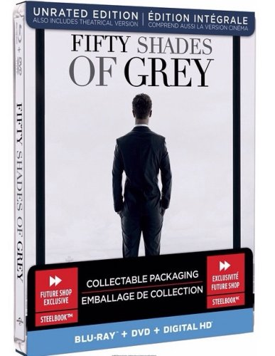 Cinquante Nuances De Grey 4 : cinquante, nuances, Fifty, Shades, (Blu-ray, SteelBook), (Best, Exclusive), [Canada], Hi-Def, Ninja, Culture, Movie, Collectible, Community
