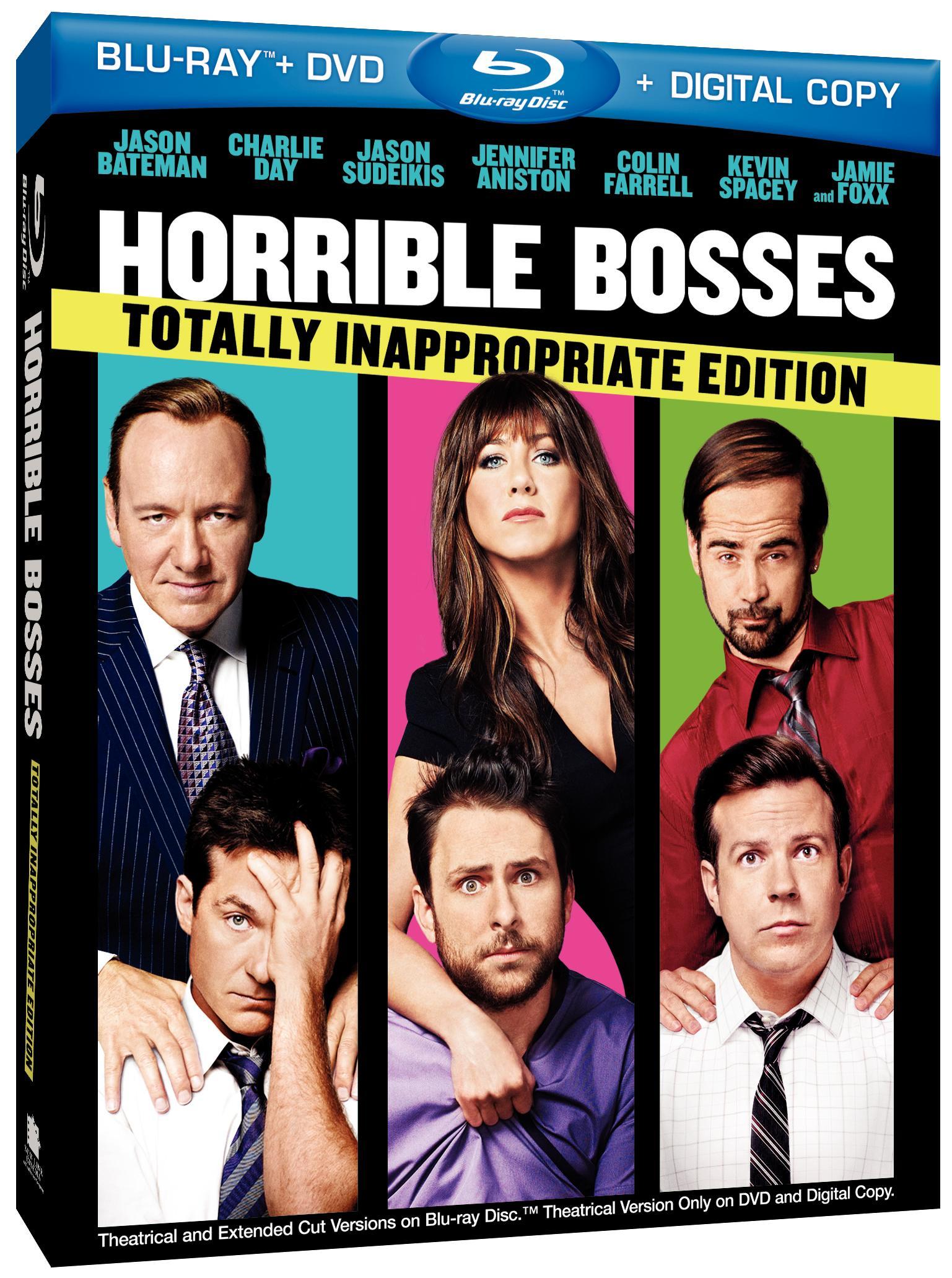 Being Mean Is So Much Fun : being, Horrible, Bosses, Coming, Blu-ray, Hi-Def, Ninja, SteelBooks, Culture, Movie