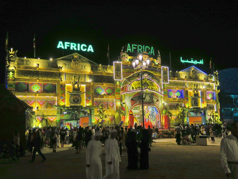 The all inclusive Africa pavilion!