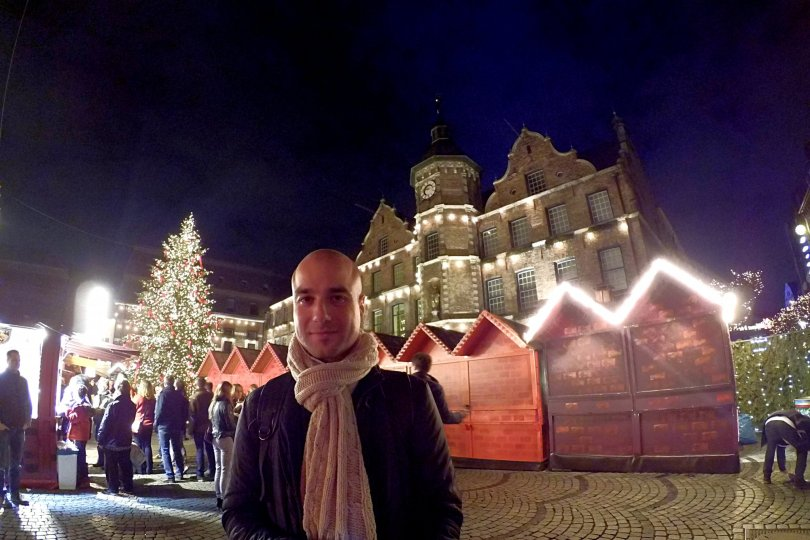 "The ""2015 German Christmas market: check!"" moment!"