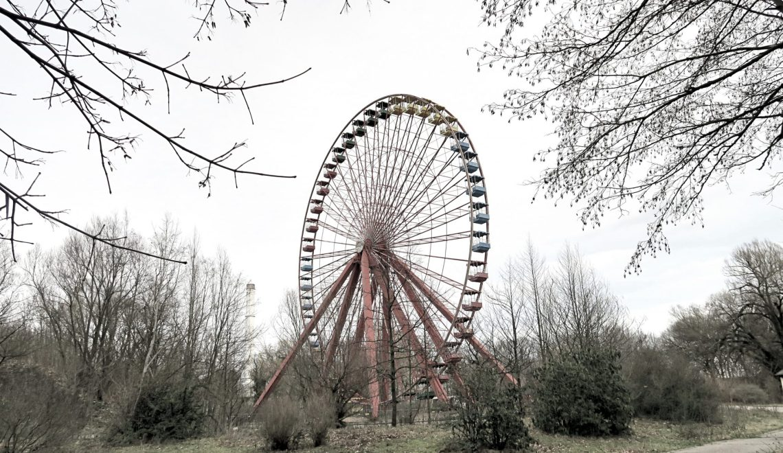 The sounds of an abandoned theme park that will creep you out!