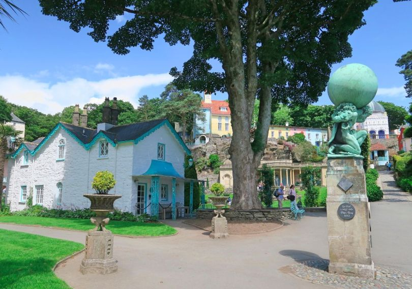 Portmeirion Village Wales house