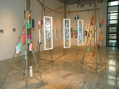 蘇州の色彩 -インスタレーション-  Hidemi Shimura