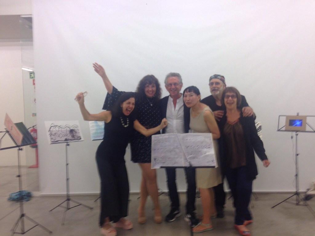 """Group Show """"ENCONTRO DE RIOS -URBAN DIALOGUES- @Espaço Espelho D´água""""  Hidemi Shimura"""