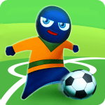 FootLOL Crazy Soccer Free Action Football game APK Mod Download for android