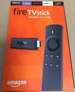 fire tv stick パッケージ
