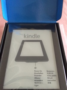 Kindle Paperwhite本体