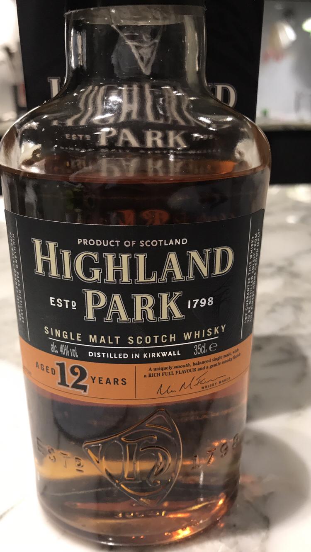 ハイランドパーク12年 Highland Park 12 Year Old: ウィスキー熊さんの ...