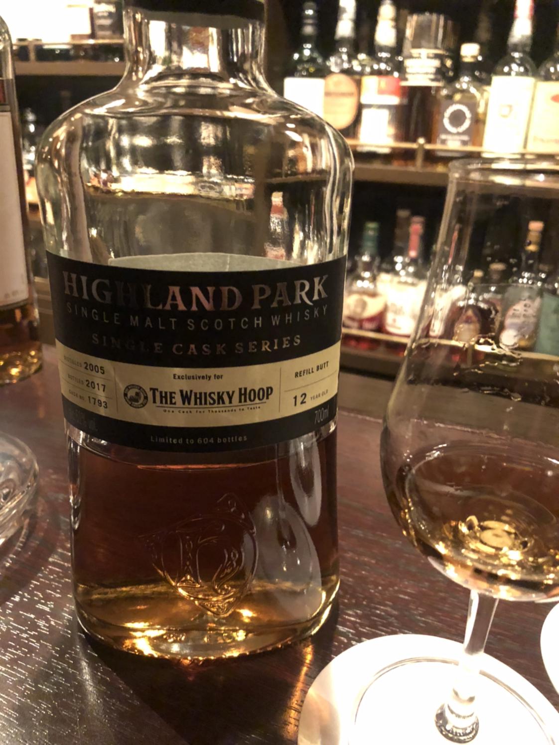 ハイランドパーク 12年 2005 OB ウイスキーフープ向け #1793 Highland ...