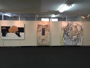 平川さん、小島さん、遠藤さんの作品