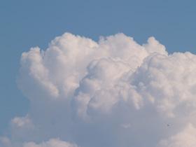 アトリエ新松戸から見た「夏の雲」