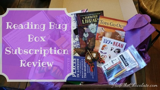 Reading Bug Box Subscription Review