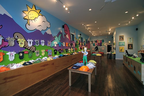 Threadless now has a kids store an actual store with