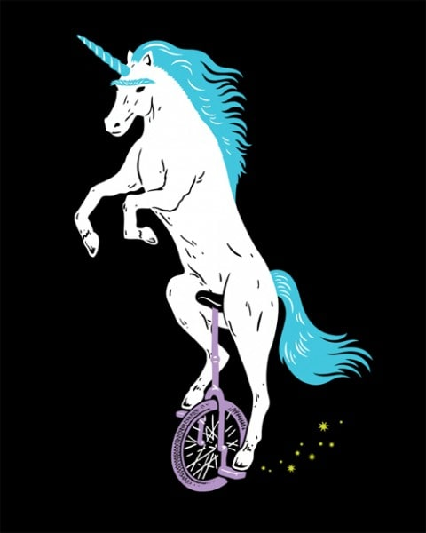 Narwhal Wallpaper Cute Unicorn With Unibrow Riding Unicycle T Shirt At Go Ape