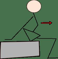 腰椎前彎運動