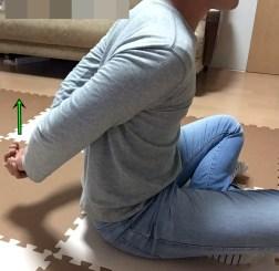 背中の運動