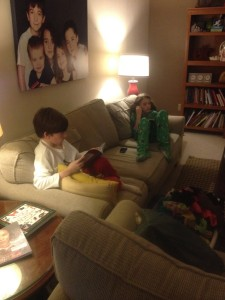 picture of kids reading detox day 2